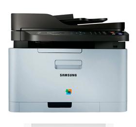 Farvelaser-multifunktionsprinter-Samsung-Xpress-C460-FW-A4-LAN,-WLAN,-NFC,-ADF